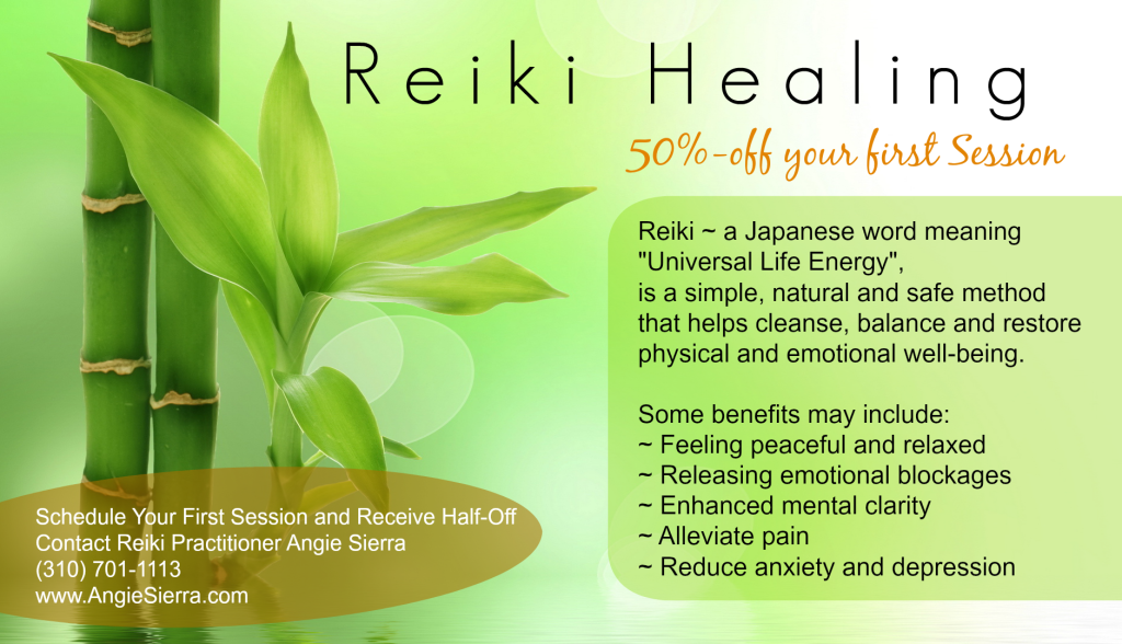 Reiki, angie sierra, los angeles, orange county, long beach