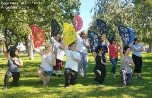 Angie Sierra - Beginners Tai Chi Fan Culver City